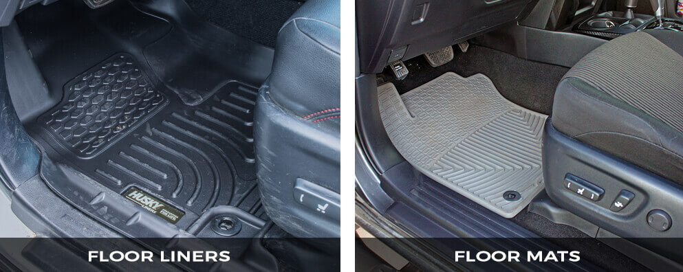 Floor Mats and Floor Liners Difference