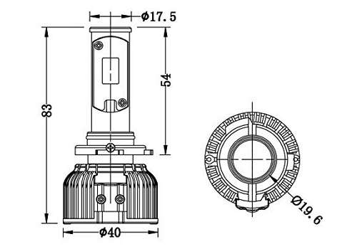 9003 LED Bulb: Specs, Compatibility  H Headlight Wiring Diagram on